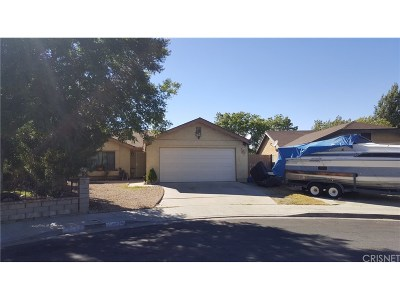 Palmdale Single Family Home For Sale: 36853 Apache Plume Drive
