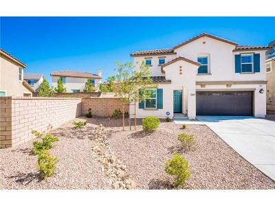 Palmdale Single Family Home For Sale: 37624 Alianthus Lane
