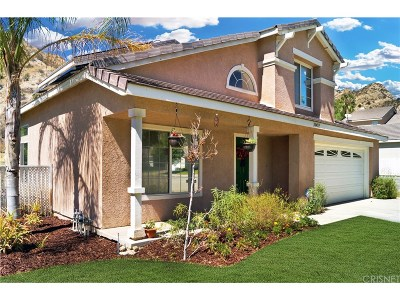 Canyon Country Single Family Home For Sale: 30459 Jasmine Valley Drive