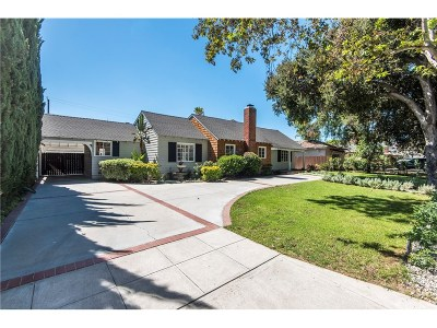 Burbank Single Family Home For Sale: 1908 West Riverside Drive