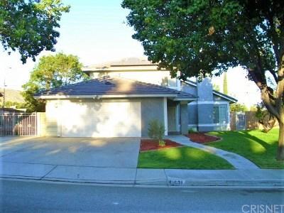 Quartz Hill Single Family Home For Sale: 41631 Elsdale Place