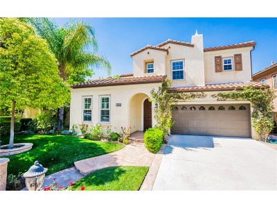 Valencia Single Family Home For Sale: 27065 Maple Tree Court