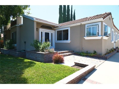 Sherman Oaks Single Family Home Sold: 15042 Valleyheart Drive