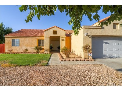 Palmdale Single Family Home For Sale: 5033 Marseilles Court