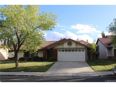 Palmdale Single Family Home For Sale: 4624 Cocina Lane
