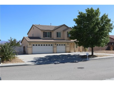 Palmdale Single Family Home For Sale: 332 Fantasy Street
