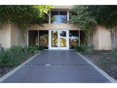 Canoga Park Condo/Townhouse For Sale: 7800 Topanga Canyon Boulevard #124