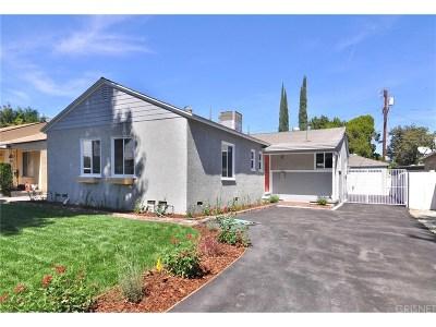 Lake Balboa CA Single Family Home For Sale: $799,000