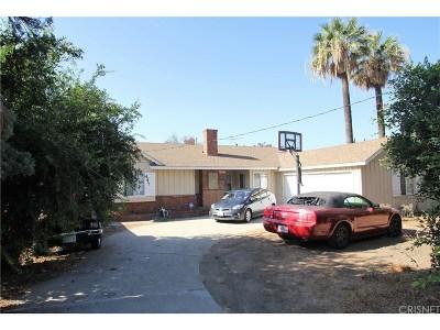 Single Family Home For Sale: 15236 Lassen Street