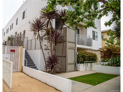 West Los Angeles Condo/Townhouse For Sale: 1715 Armacost Avenue #1