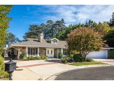 Encino Single Family Home Sold: 15712 Sutton Street