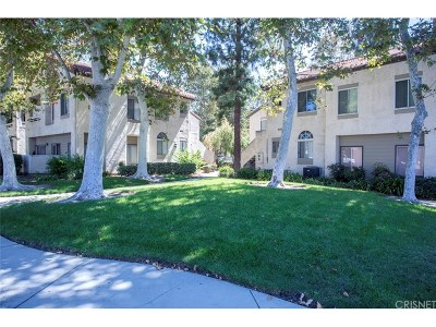 Simi Valley Condo/Townhouse For Sale: 3282 Darby Street #238