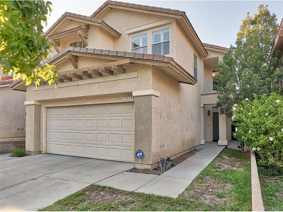 Newhall Single Family Home For Sale: 19315 Ackerman Avenue #37