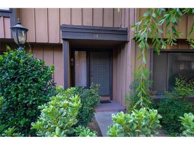 Northridge Condo/Townhouse For Sale: 9767 Reseda Boulevard #95
