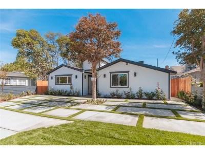 Valley Village Single Family Home For Sale: 5750 Vantage Avenue