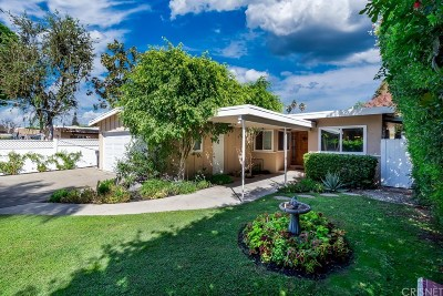 Valley Village Single Family Home For Sale: 5500 Rhodes Avenue