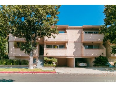 Sherman Oaks Condo/Townhouse For Sale: 4500 Murietta Avenue #2