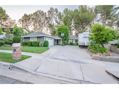 Newhall Single Family Home For Sale: 26329 Larkhaven Place