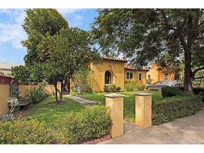 Studio City Single Family Home For Sale: 4015 Cartwright Avenue