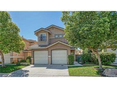 Castaic Single Family Home For Sale: 27614 Primrose