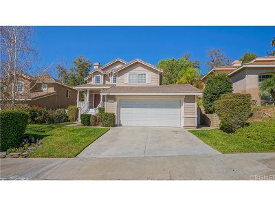 Saugus Single Family Home For Sale: 22208 Pamplico Drive
