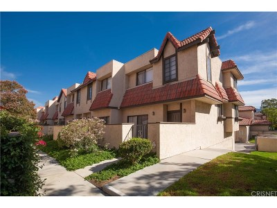 Canyon Country Condo/Townhouse For Sale: 27657 Ironstone Drive #6