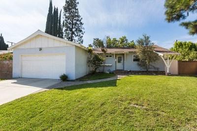 Granada Hills Single Family Home For Sale: 10629 Gothic Avenue