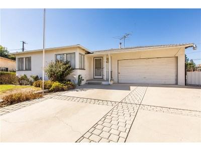 Reseda Single Family Home For Sale: 7743 Nestle Avenue