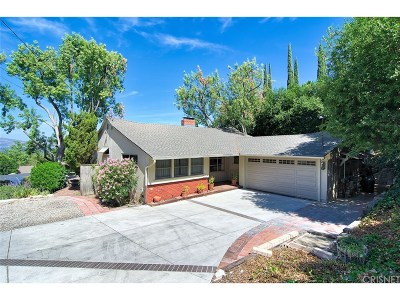 Woodland Hills Single Family Home For Sale: 22655 Macfarlane Drive