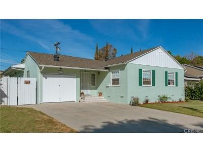 Encino Single Family Home Sold: 5909 Texhoma Avenue