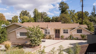 Woodland Hills Single Family Home Sold: 5620 Faust Avenue