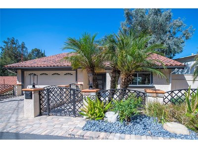 Woodland Hills Single Family Home For Sale: 4958 Marmol Drive