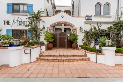 Sherman Oaks Condo/Townhouse For Sale: 13308 Valleyheart Drive #402