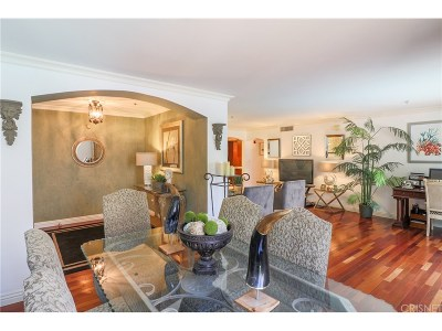 Sherman Oaks Condo/Townhouse Sold: 4501 Cedros Avenue #106