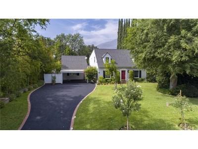 Altadena Single Family Home For Sale: 1933 Minoru Drive