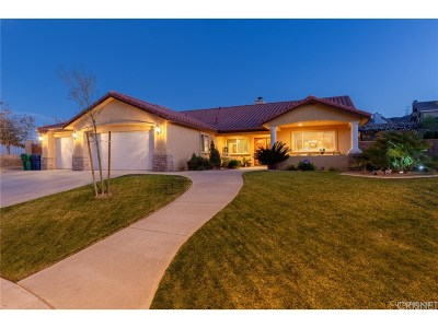 Palmdale Single Family Home For Sale: 6512 Parker Drive