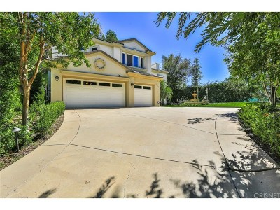 Calabasas Single Family Home For Sale: 24832 Earls Court
