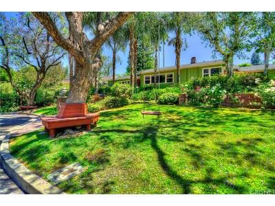 Tarzana Single Family Home For Sale: 18614 Cassandra Street