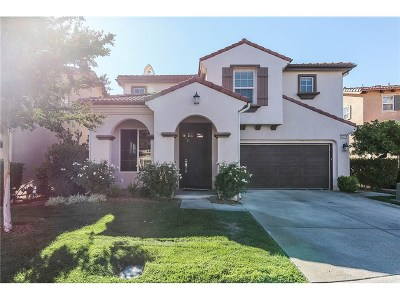 Stevenson Ranch Single Family Home For Sale: 25359 Splendido Court