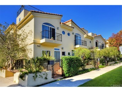 Santa Monica Condo/Townhouse For Sale: 1312 Stanford Street