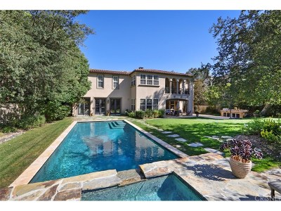 Calabasas Single Family Home For Sale: 26717 Mont Calabasas Drive