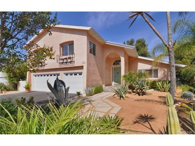 Thousand Oaks Single Family Home For Sale: 703 San Doval Place