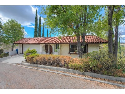 Woodland Hills Single Family Home For Sale: 4995 Medina Drive