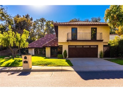 Westlake Village Single Family Home For Sale: 855 Hartglen Avenue