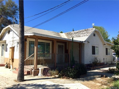 Van Nuys Single Family Home Active Under Contract: 6419 Columbus Avenue