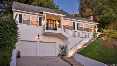 Los Angeles Single Family Home For Sale: 3121 Lake Hollywood Drive