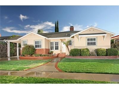 Reseda Single Family Home For Sale: 19526 Haynes Street