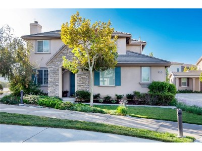 Valencia Single Family Home For Sale: 27776 Summer Grove Place