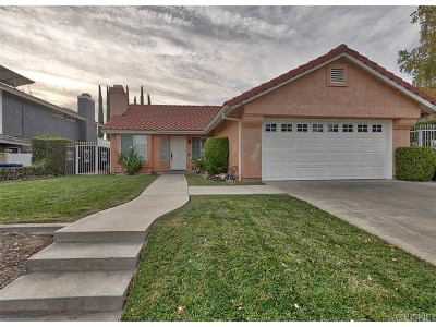 Saugus Single Family Home For Sale: 22330 Cardiff Drive