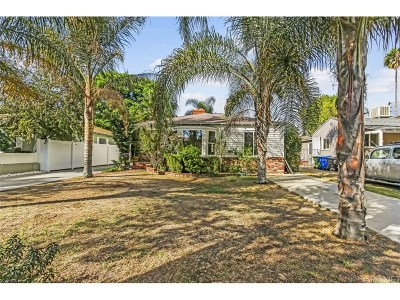 Sherman Oaks Single Family Home Active Under Contract: 14313 Collins Street